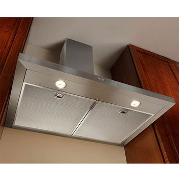 "Broan Elite Wall Mount Chimney Range Hood, 500 CFM, Stainless Steel, 30"" & 36"" Widths Available"