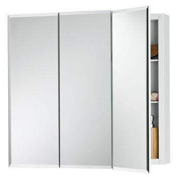 Broan Horizon Frameless Tri-View Medicine Cabinet