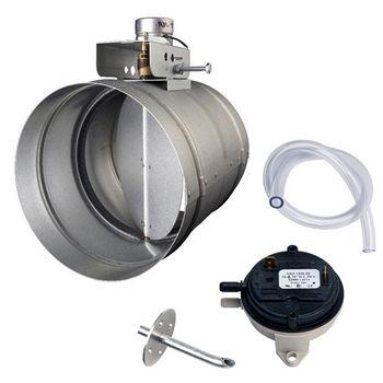 Broan Automatic Make-Up Air Damper with Pressure Sensor Kit