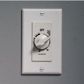 Bathroom Light Switch Quiet bathroom fans - timers, controls & switches for bathroom exhaust