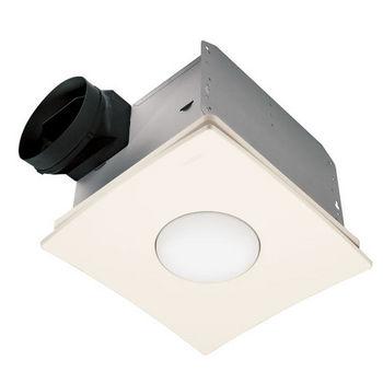 Bathroom fans nutone qtxen series ultra silent - Ultra quiet bathroom exhaust fan with light ...