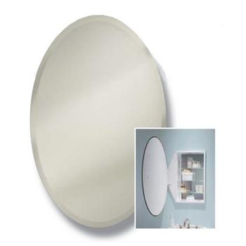 Broan Nutone Oval Frameless Bathroom Medicine Cabinet