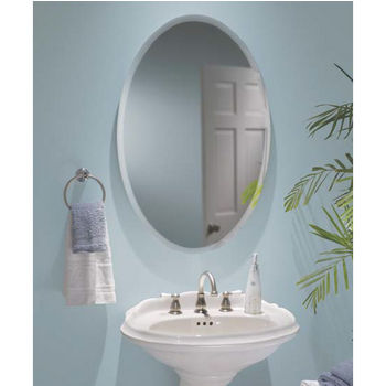 Broan Nutone Oval Frameless Bathroom Medicine Cabinet