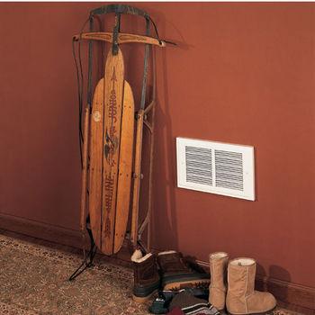 Broan 1000W Wall Mount Register Heater, 120 VAC