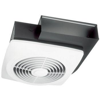 Broan Wall or Ceiling Mount Side Discharge Utility Fan, 270 CFM