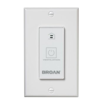 Broan Wall Control 20-Minute Push Button Timer