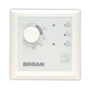 Broan Pool Plus Wall Control with Dehumidistat for ERV and HRV Units