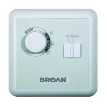 Broan Constructo Air Supply Speed and Humidity Wall Control for ERV and HRV Units