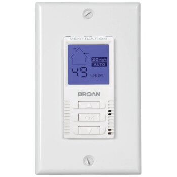 Broan Deco-Touch Manual/Automatic Wall Control for ERV and HRV Units