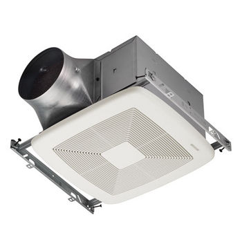 "Broan Ultra Green ™ 110 CFM Multi-Speed Fan, <0.3 Sones, Energy Star ®, Housing: 11-3/8"" W x 10-1/2"" D x 7-5/8"" H"