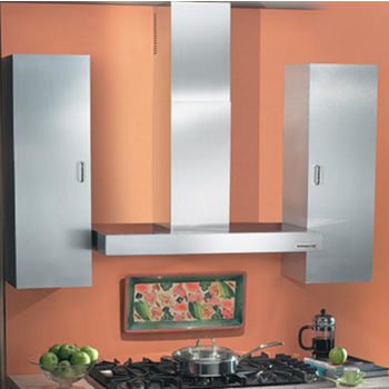 """Broan Elite Wall Chimney Range Hood with 370CFM, 7.0 sone, Stainless Steel, 30"""" - 42"""" Widths Available"""