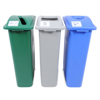 Busch Systems Waste Watcher Recycling Bin