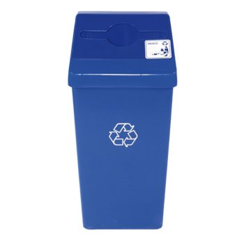 Blue Recycling Bin Base