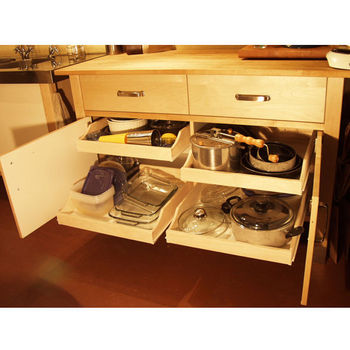 Pre-Assembled Cabinet Pull-Outs