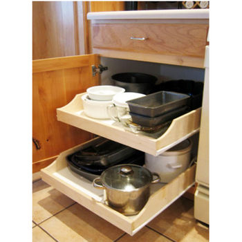 How to Make a Rolling Kitchen Cart Out of a Kitchen Cabinet