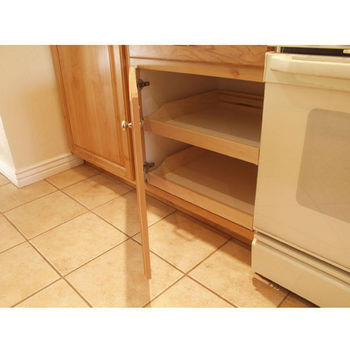 do it yourself cabinet pull outs. Black Bedroom Furniture Sets. Home Design Ideas
