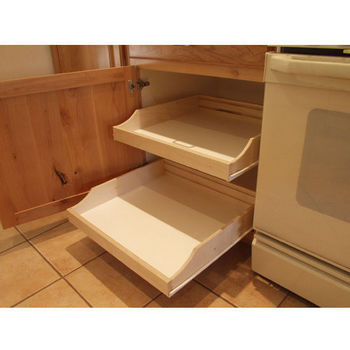 Do-It-Yourself Cabinet Pull-Outs