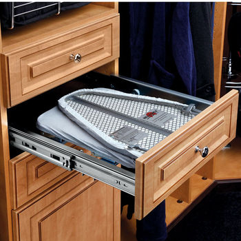 Built-In Drawer Ironing Board