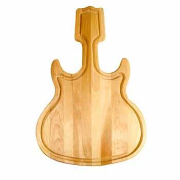 Guitar Shape Cutting Board 2