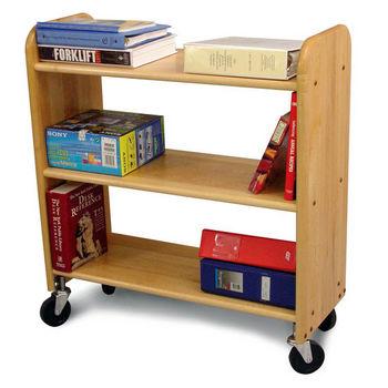 Catskill Library Book Trucks, Natural Birch
