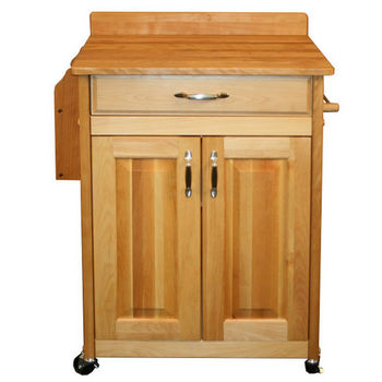 Deluxed Butcher Block Cart