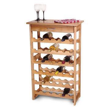 36 Bottle Capacity Wine Rack