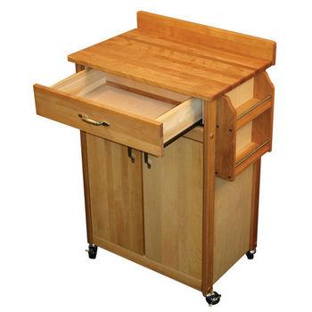 Catskill Mid-Size Series Butcher Block Carts