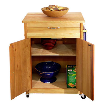 Catskill Mid-Size Series Butcher Block Carts