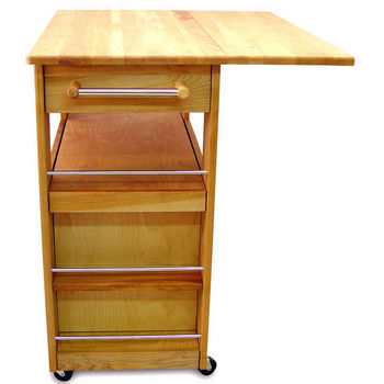 Catskill Heart-of-the-Kitchen Island with Drop Leaf - CA-KI11320