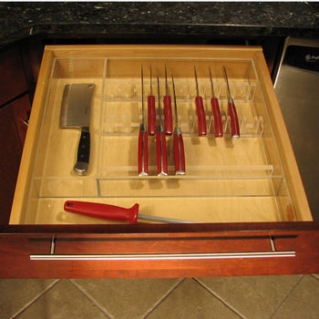 Acrylic drawer inserts for kitchen cabinets standard sizes
