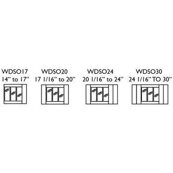 Transparent Inserts - Wrap Dispenser Inserts
