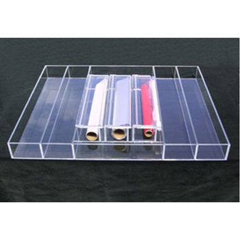 Transparent Inserts - Wrap Dispenser Inserts