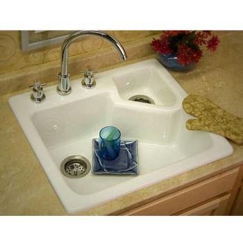Kitchen sinks quidnick self rim single bowl kitchen sink - Kitchen sink rim ...