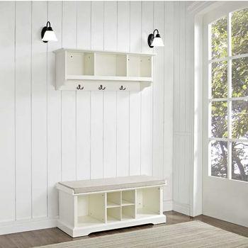 Brennan 2 Piece Set in White