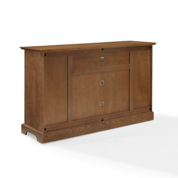 "Crosley Furniture Campbell 60"" TV Stand, Oak Finish"