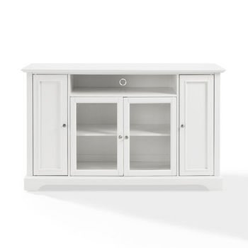 "Crosley Furniture Campbell 60"" TV Stand, White Finish"