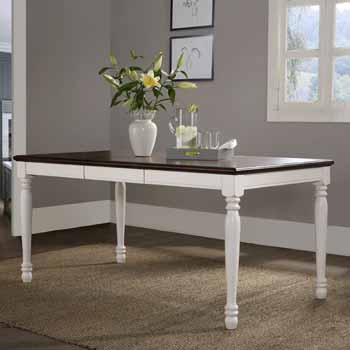 Table, White - View 1