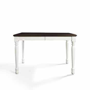 Table, White - View 4
