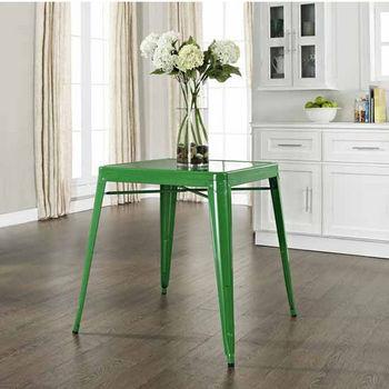 Crosley Furniture Amelia Metal Café Table, 26''W x 26''D x 30''H
