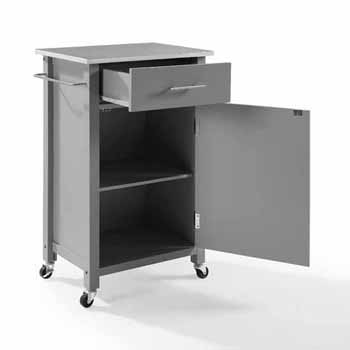 Stainless Steel Top Gray Base Product View 4