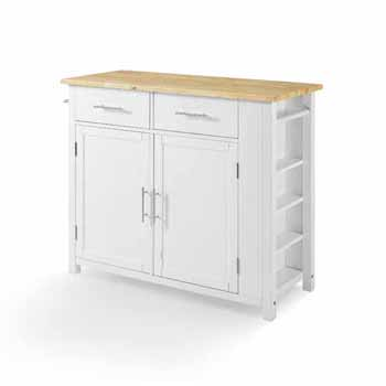 Wooden Top White Base Product View 7