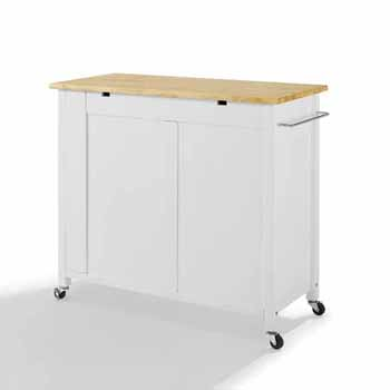 Wooden Top White Base Product View 5