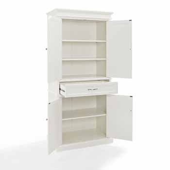 Parsons Pantry in White