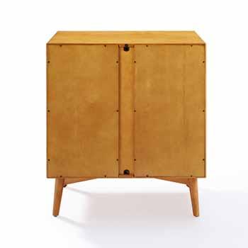Crosley Furniture Landon Bar Cabinet, Acorn Finish, 39-1/2''W x 25''D x 13''H