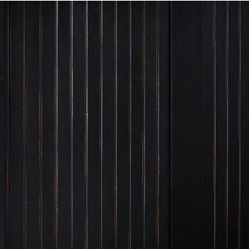 Crosley Furniture Seaside Hall Tree, Distressed Black Finish
