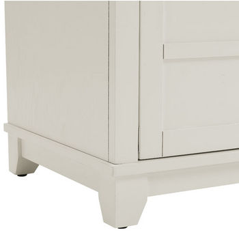 Crosley Furniture Adler Entryway Bench, White Finish