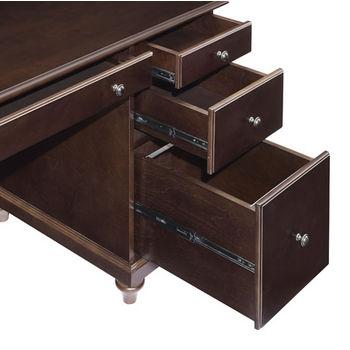 Crosley Furniture Palmetto Computer Desk, Espresso Finish