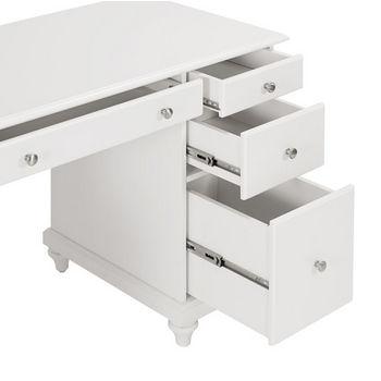 Crosley Furniture Palmetto Computer Desk, White Finish