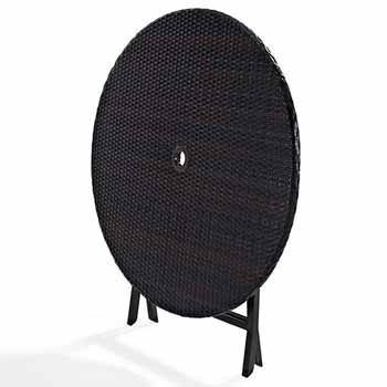 Outdoor Wicker Folding Table by Crosley Furniture