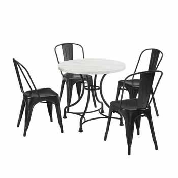 "Display 1 - 32"" 5-Piece Amelia Chairs"